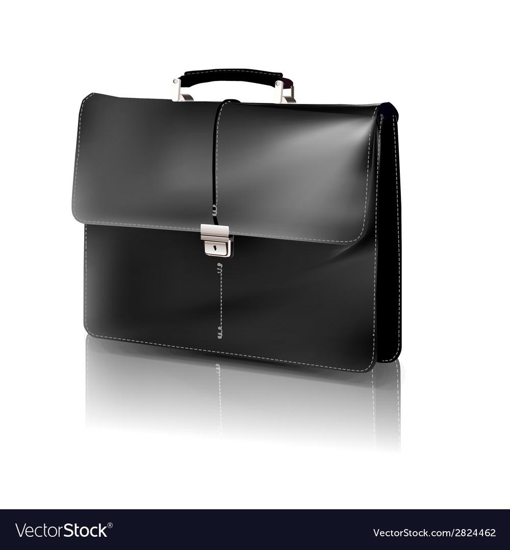 Black briefcase vector | Price: 1 Credit (USD $1)