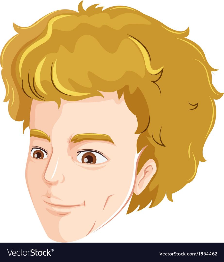 Human head vector | Price: 1 Credit (USD $1)