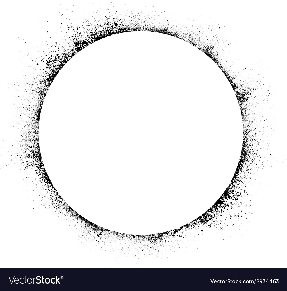 Circle ink blots background vector | Price: 1 Credit (USD $1)