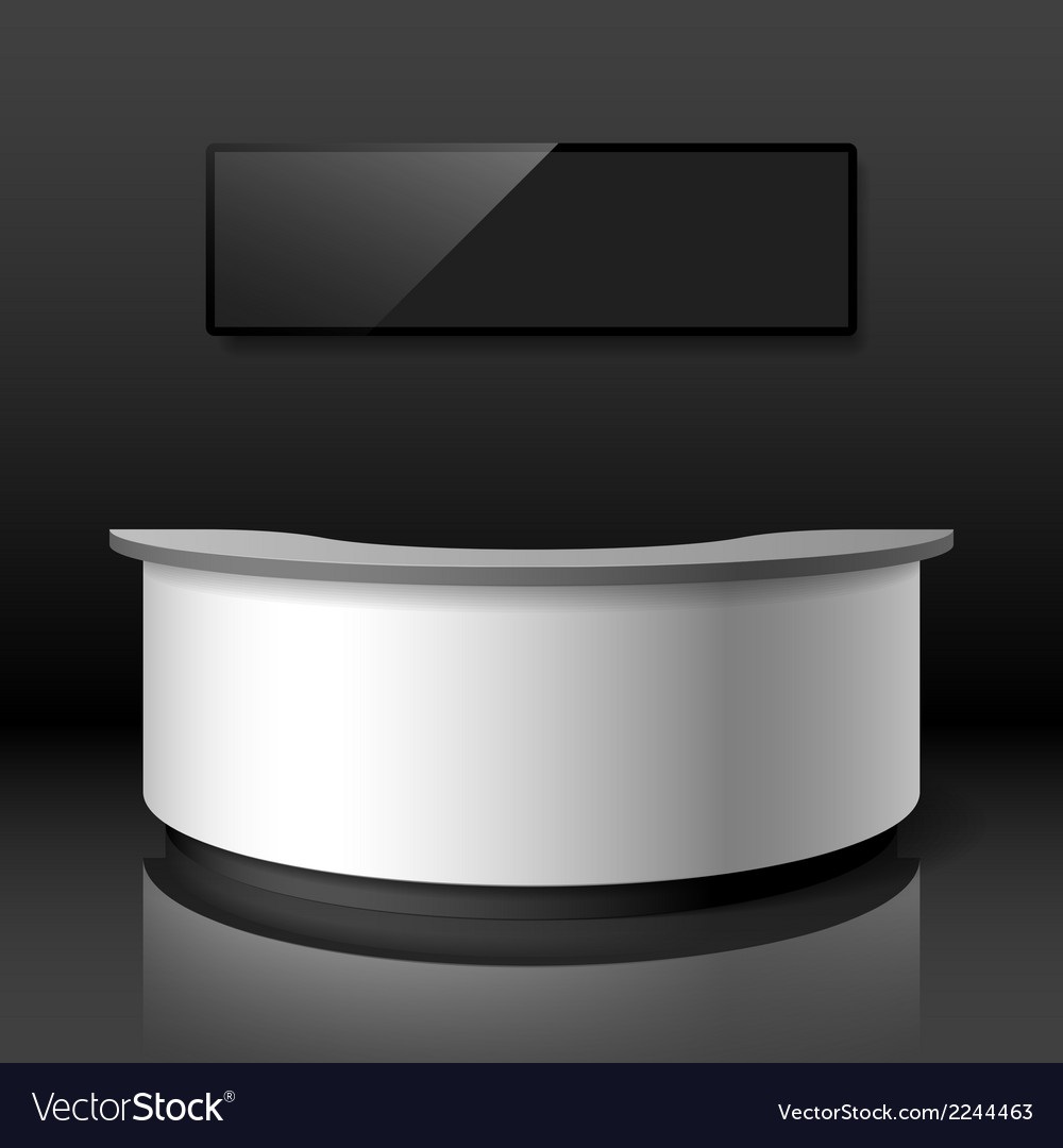 Reception counter vector | Price: 1 Credit (USD $1)