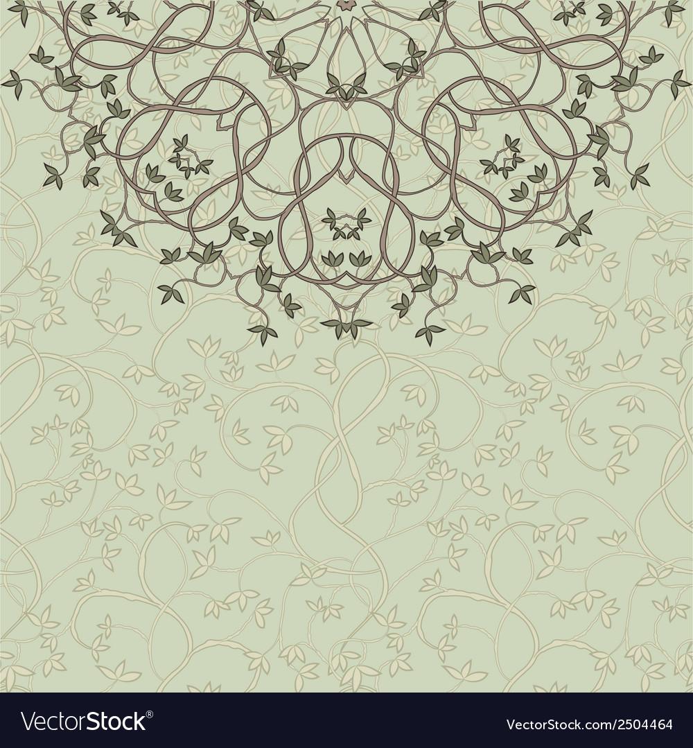 Floral design card vector | Price: 1 Credit (USD $1)