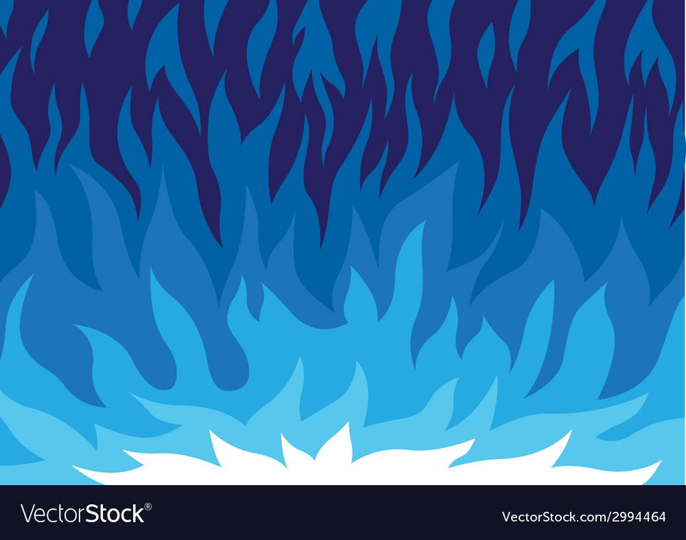 Gas flame - cartoon vector | Price: 1 Credit (USD $1)