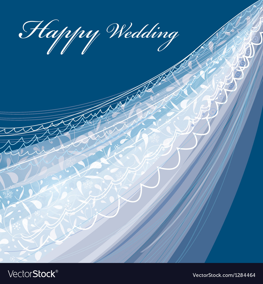 Wedding veil vector | Price: 1 Credit (USD $1)