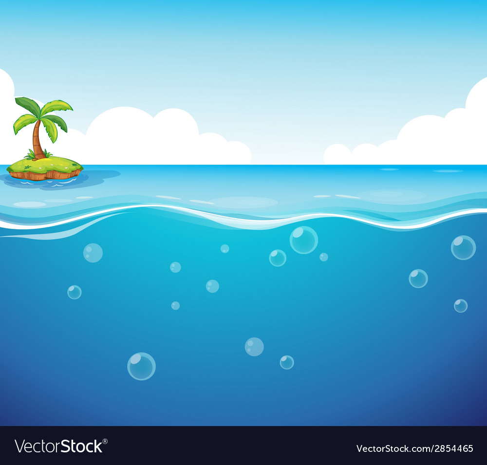 Ocean vector | Price: 1 Credit (USD $1)