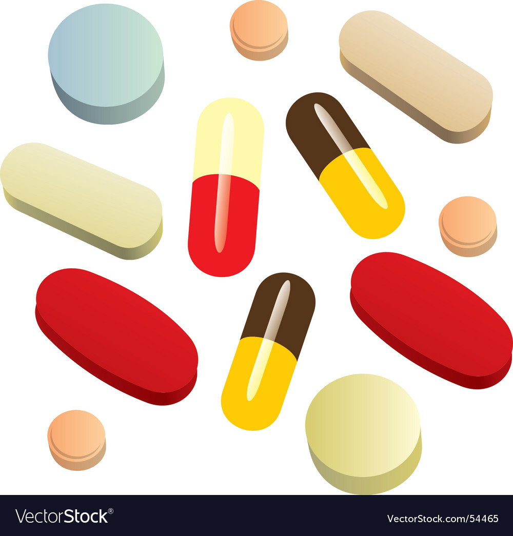 Painkillers vector | Price: 1 Credit (USD $1)