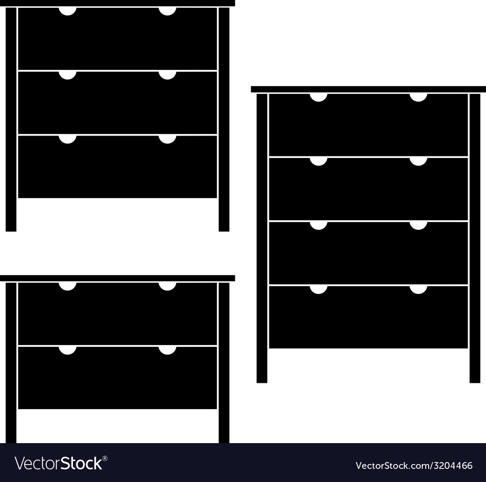 Commodes vector | Price: 1 Credit (USD $1)