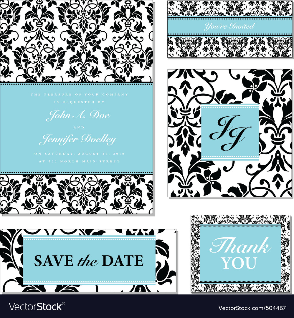 black and pastel frame set vector | Price: 1 Credit (USD $1)