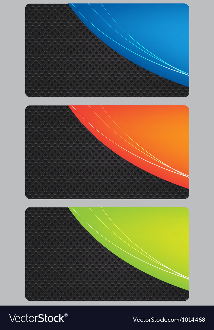 Brochure business card banner metal glass abstract vector | Price: 1 Credit (USD $1)
