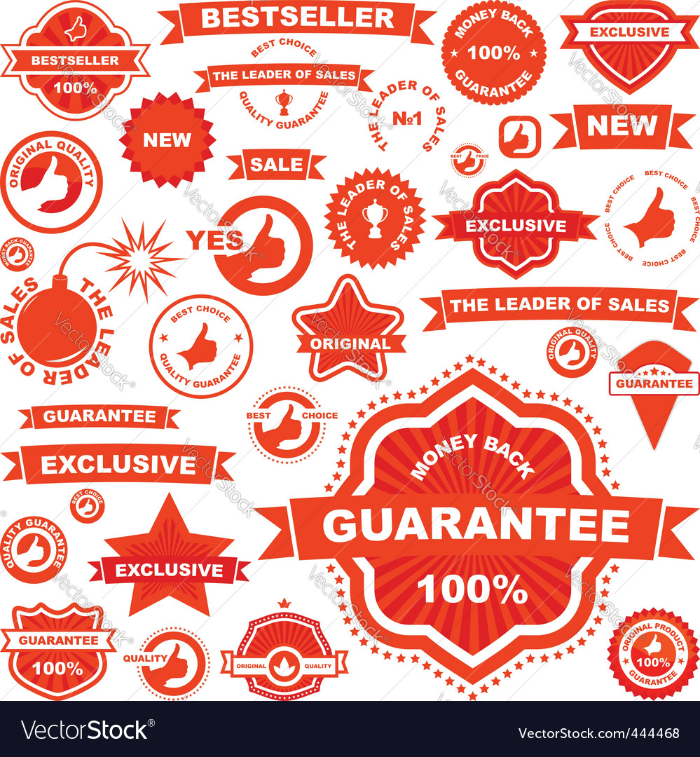 Sale signs vector | Price: 1 Credit (USD $1)
