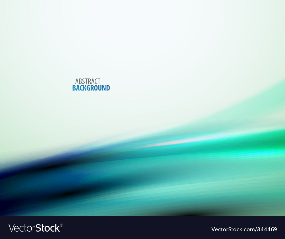 Abstract flowing smooth wave vector | Price: 1 Credit (USD $1)