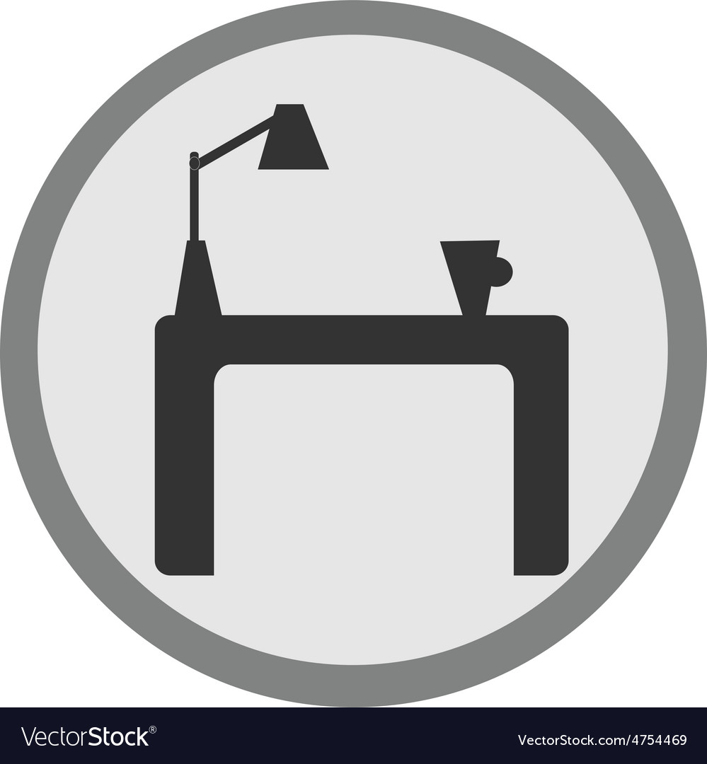 Furniture icon vector | Price: 1 Credit (USD $1)