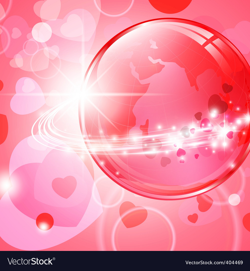 Global love vector | Price: 1 Credit (USD $1)