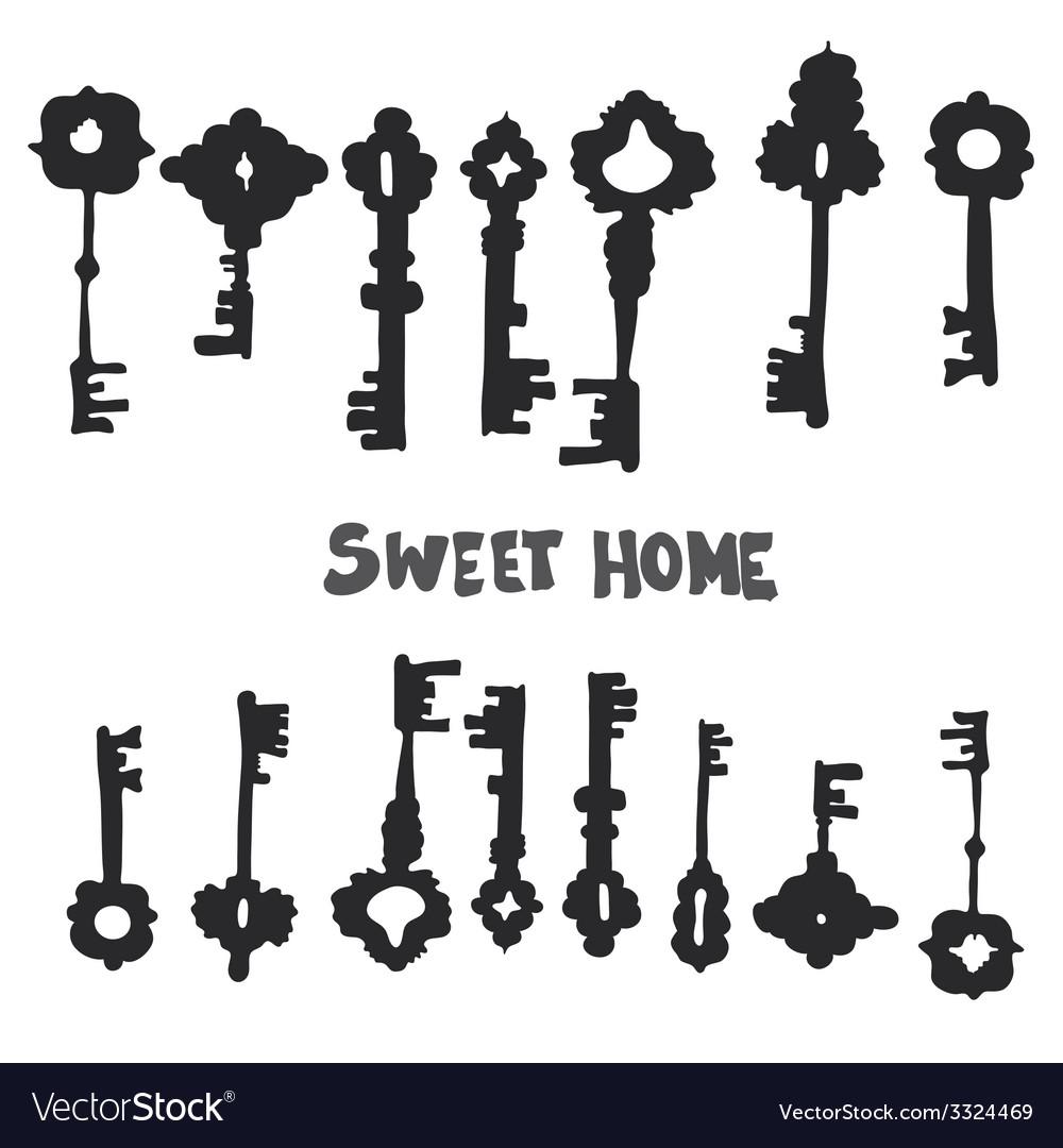 Keys8 vector | Price: 1 Credit (USD $1)