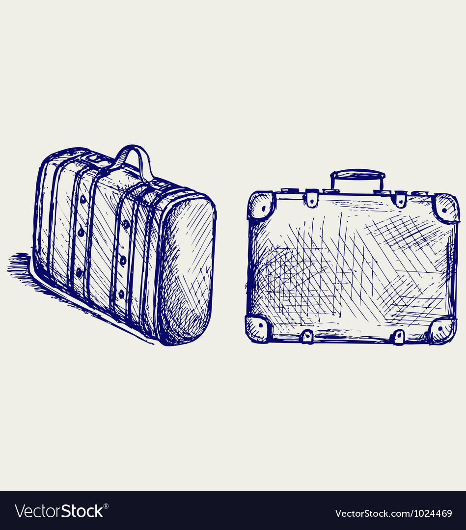 Suitcase travel vector | Price: 1 Credit (USD $1)