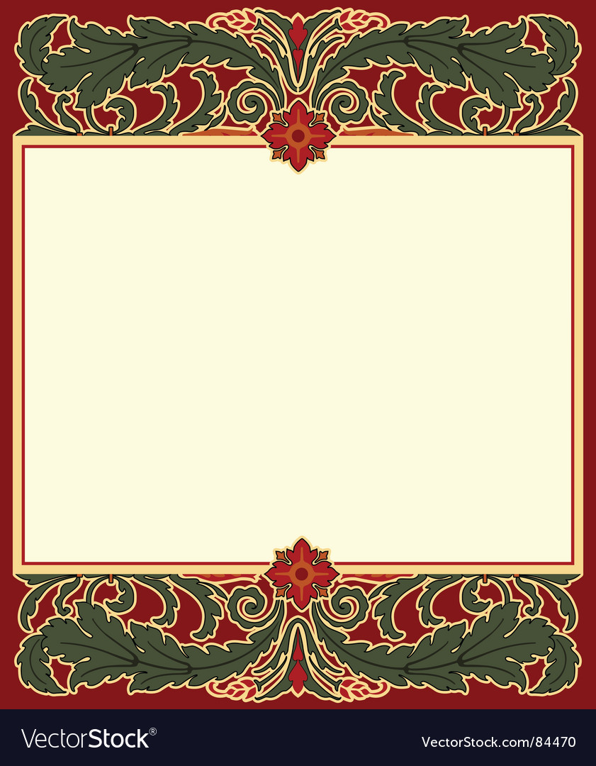 Arts and crafts frame vector | Price: 1 Credit (USD $1)
