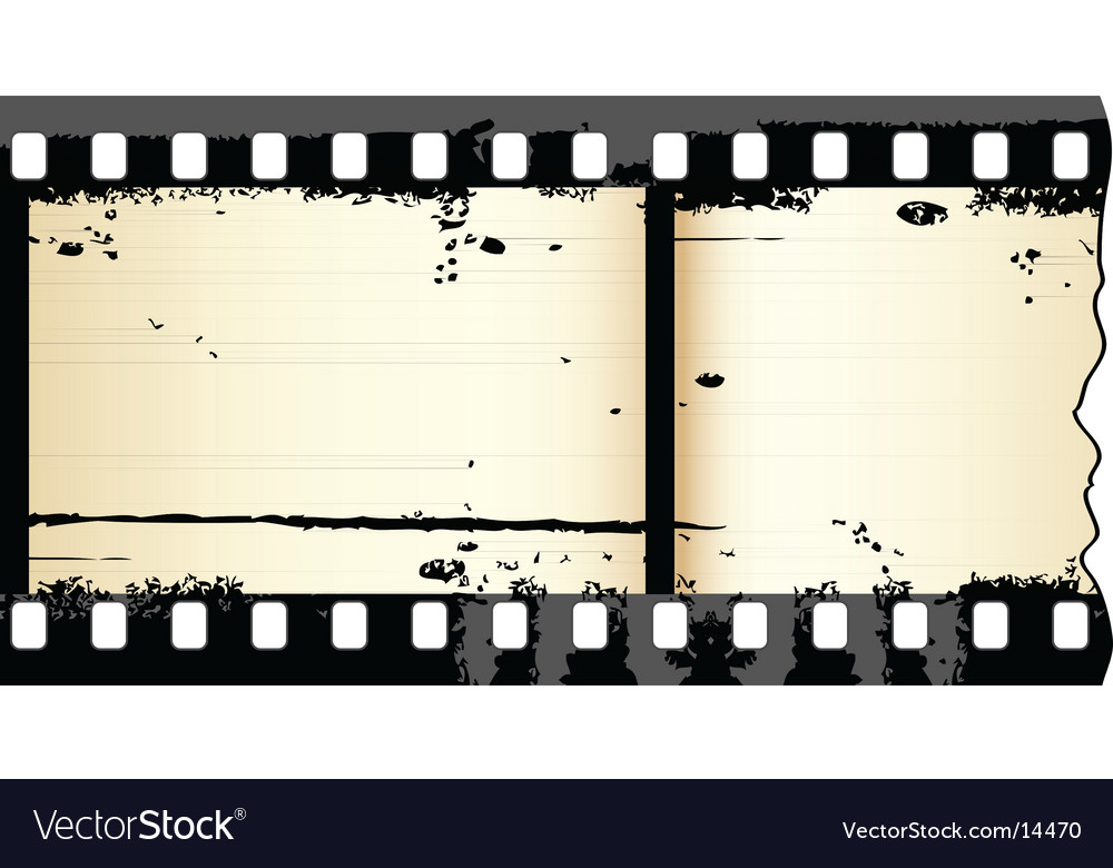 Grunge film strip vector | Price: 1 Credit (USD $1)