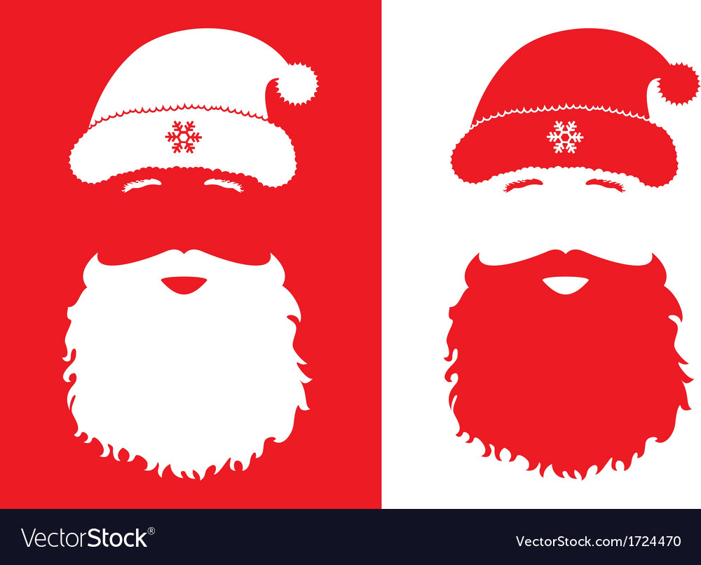 Santa claus fashion style vector | Price: 1 Credit (USD $1)