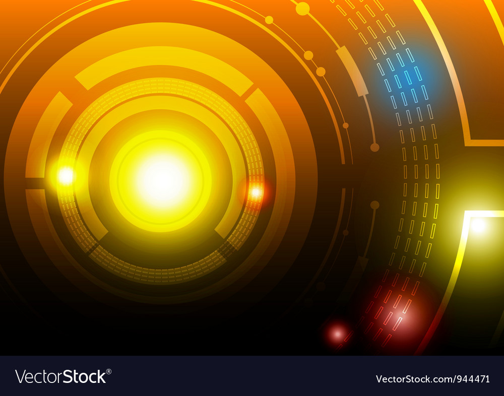 Circle abstract background design vector | Price: 1 Credit (USD $1)