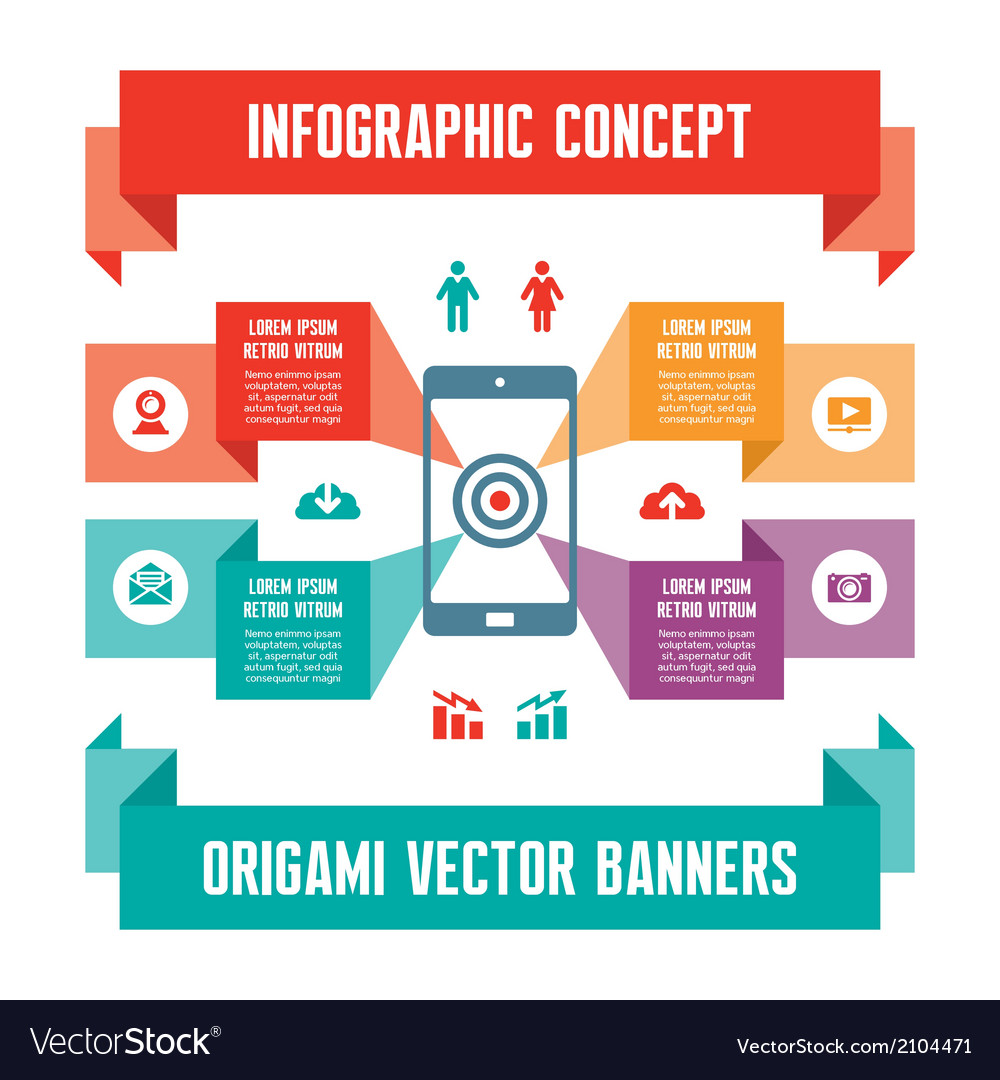Infographic business concept for presentation vector | Price: 1 Credit (USD $1)