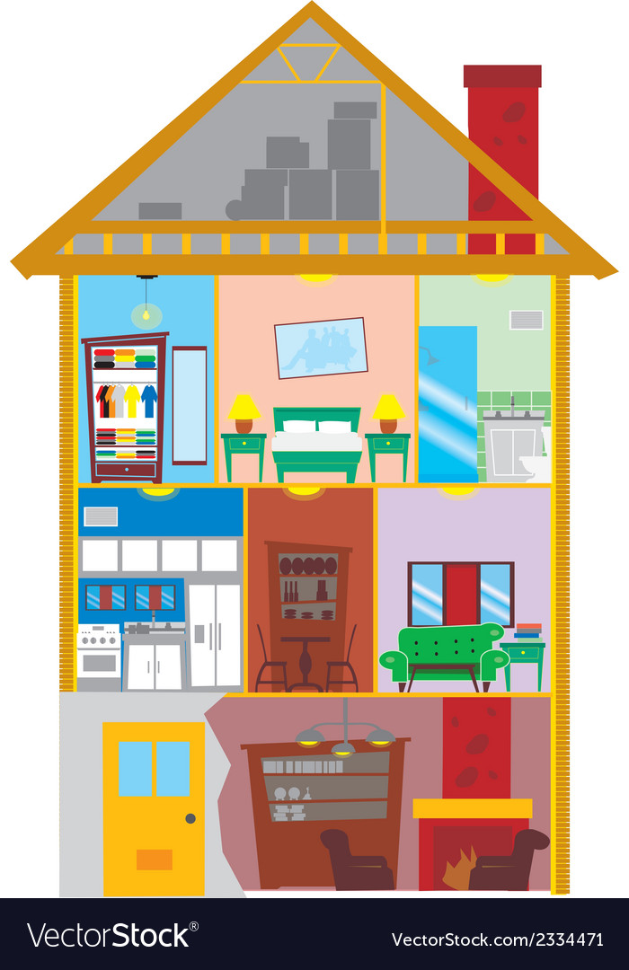 My house vector | Price: 1 Credit (USD $1)
