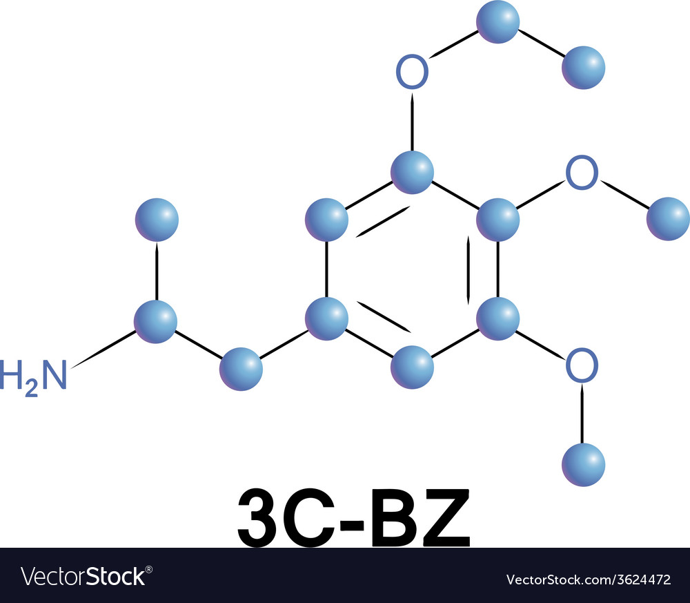 3c-bz psychedelic drug vector | Price: 1 Credit (USD $1)