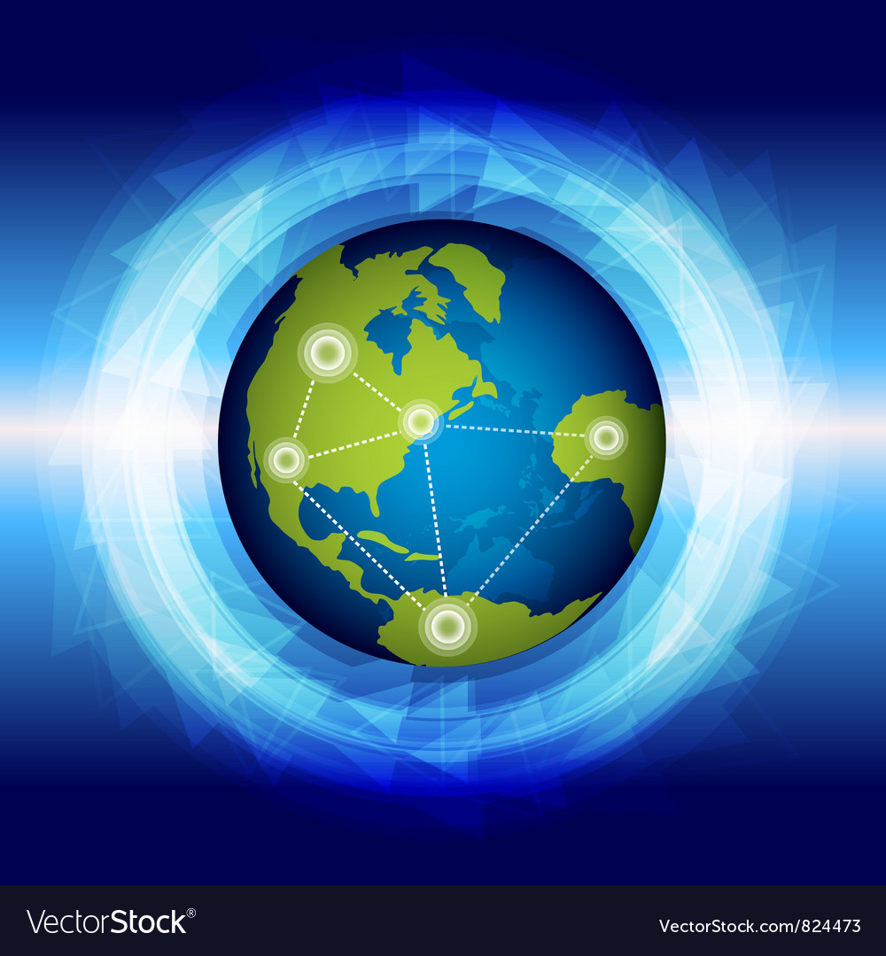 Global connection vector | Price: 1 Credit (USD $1)