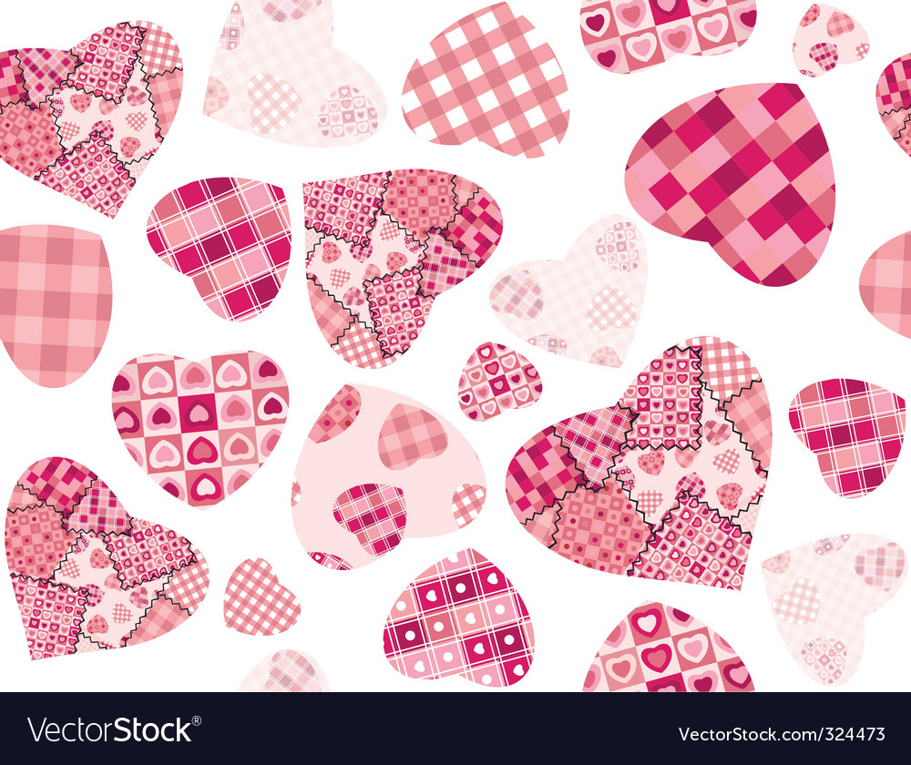 Texture hearts vector | Price: 1 Credit (USD $1)