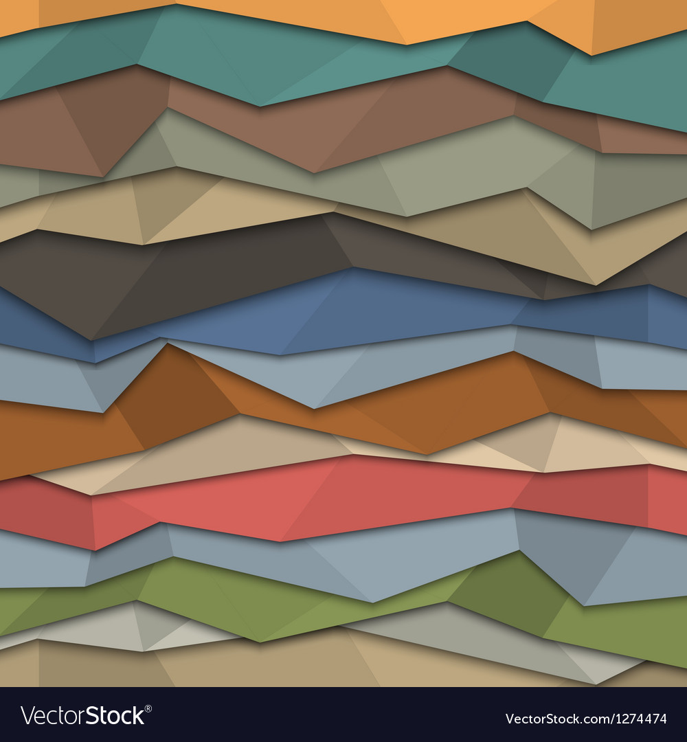3d colored paper background origami style vector | Price: 1 Credit (USD $1)