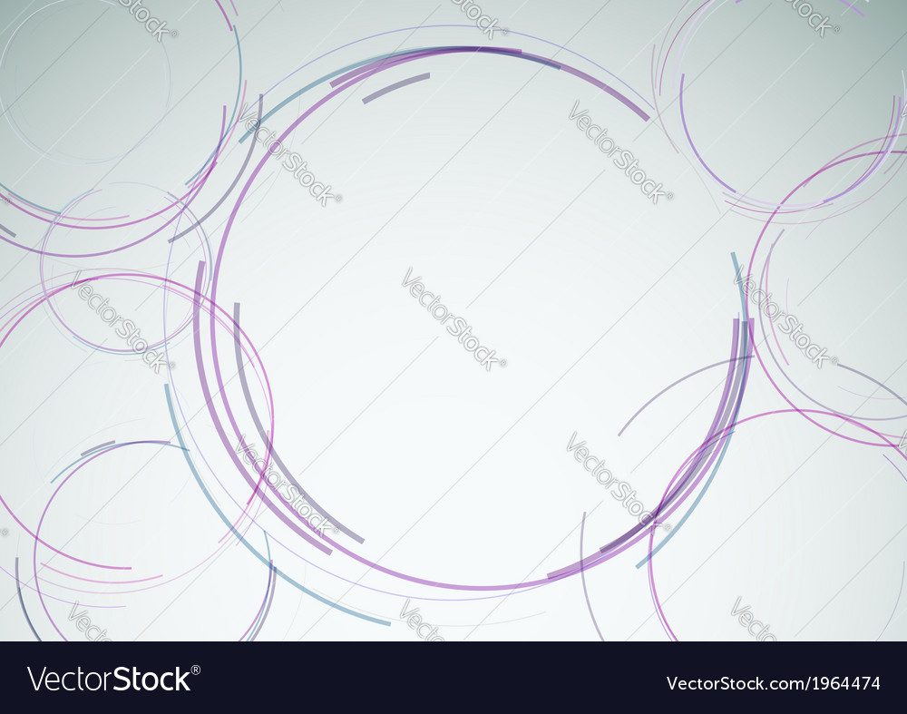 Modern background template with abstract round vector | Price: 1 Credit (USD $1)