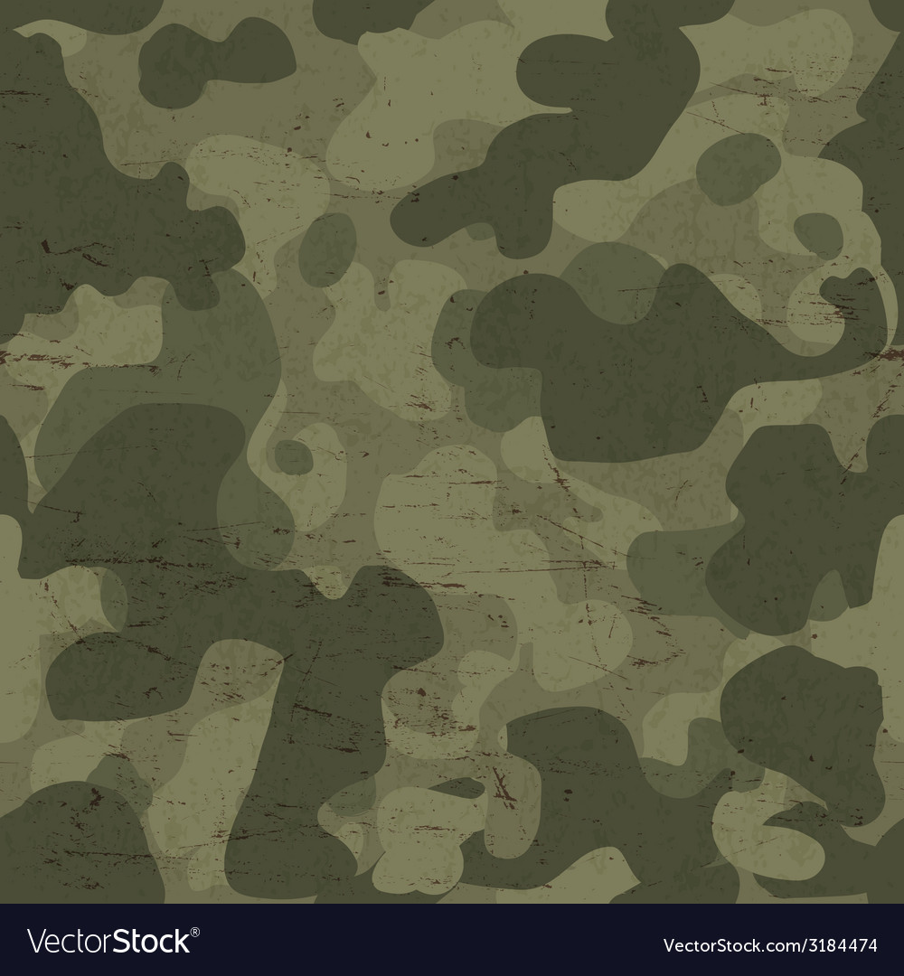 Seamless camouflage vector | Price: 1 Credit (USD $1)