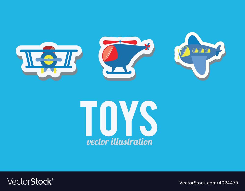 Boy toys desing vector | Price: 1 Credit (USD $1)