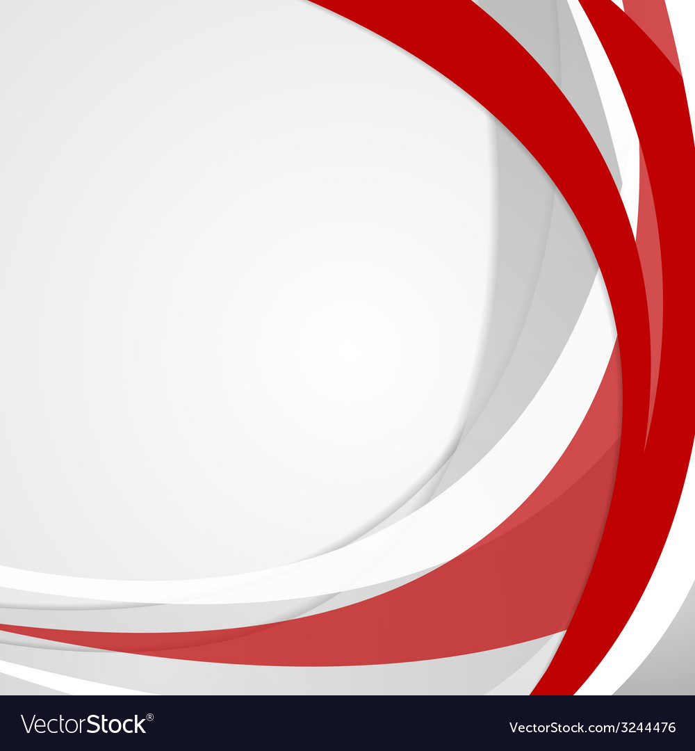 Abstract red wavy background vector | Price: 1 Credit (USD $1)