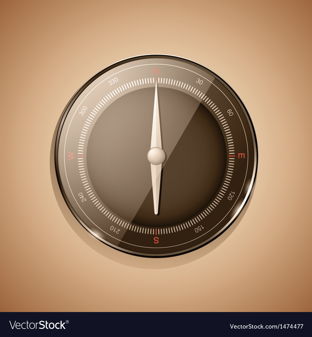 3d compass sepia vector   Price: 1 Credit (USD $1)