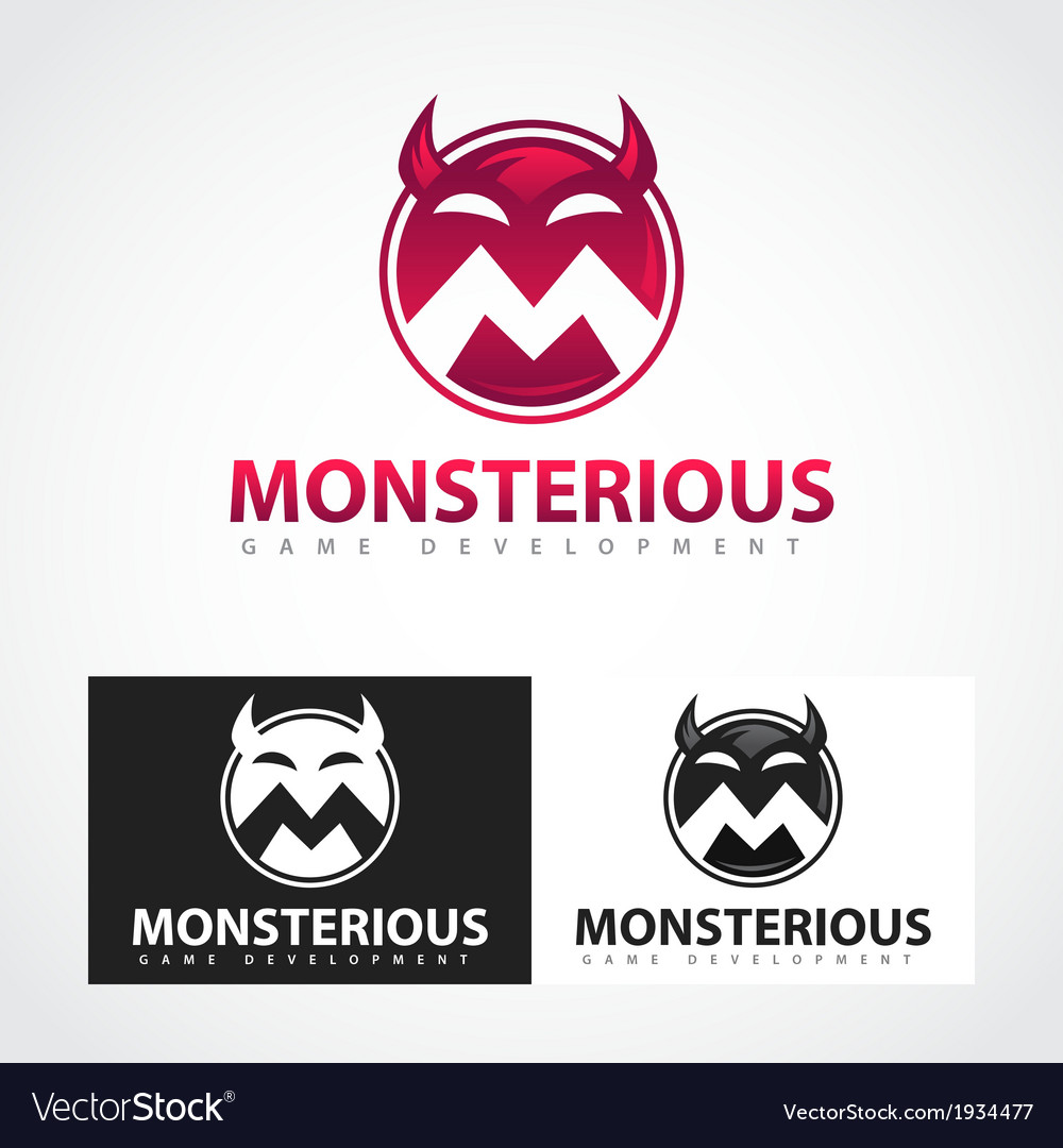Monsterious symbol vector | Price: 1 Credit (USD $1)
