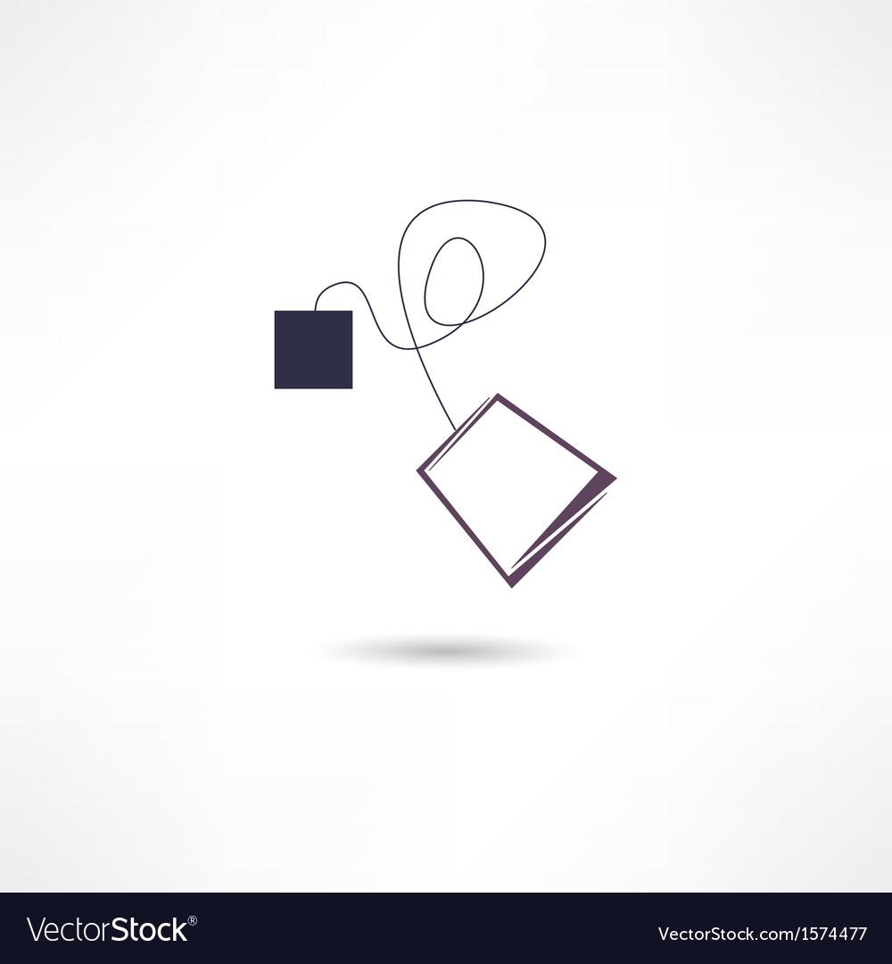 Teabag icon vector | Price: 1 Credit (USD $1)