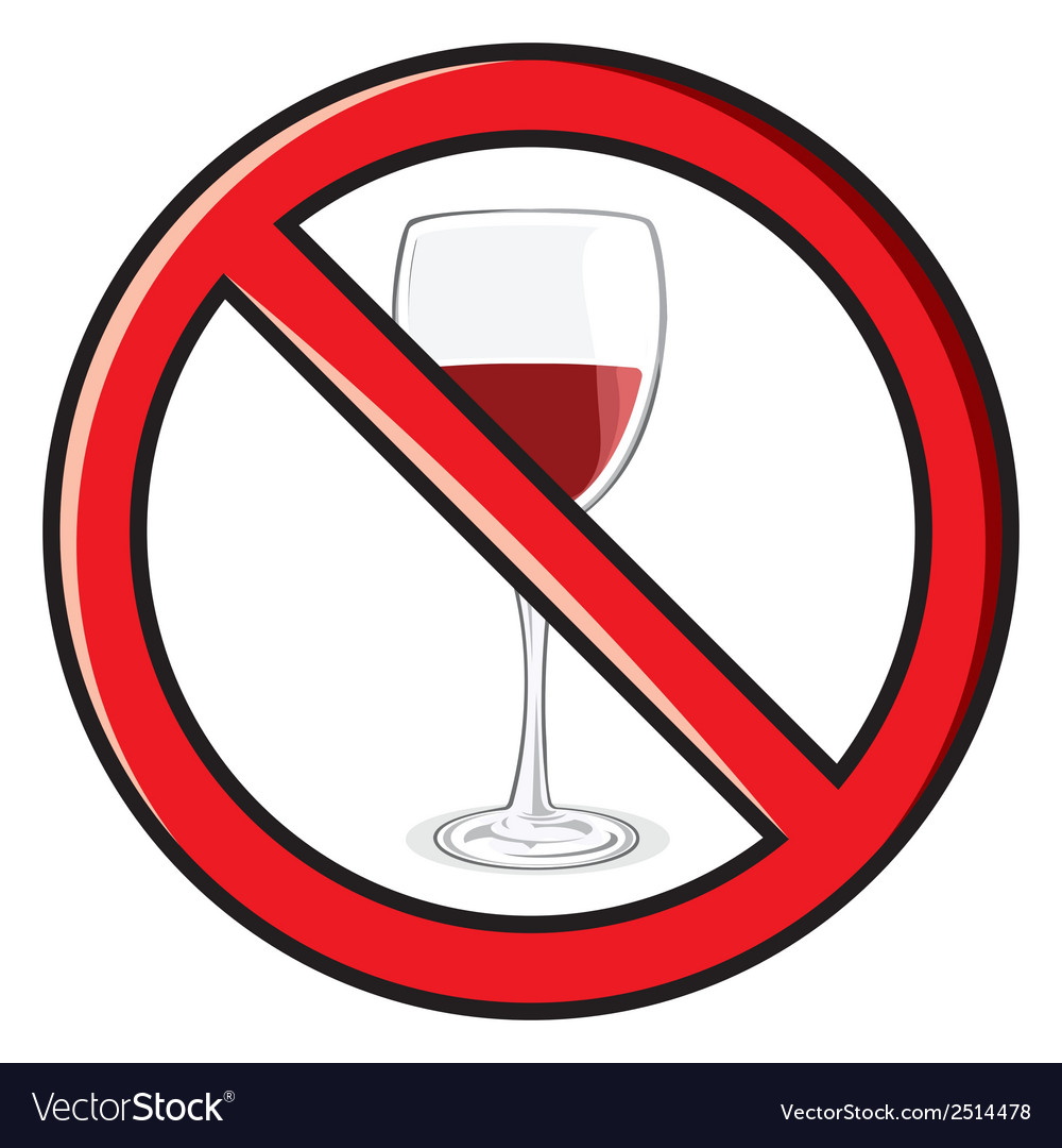 No alkohol vector | Price: 1 Credit (USD $1)