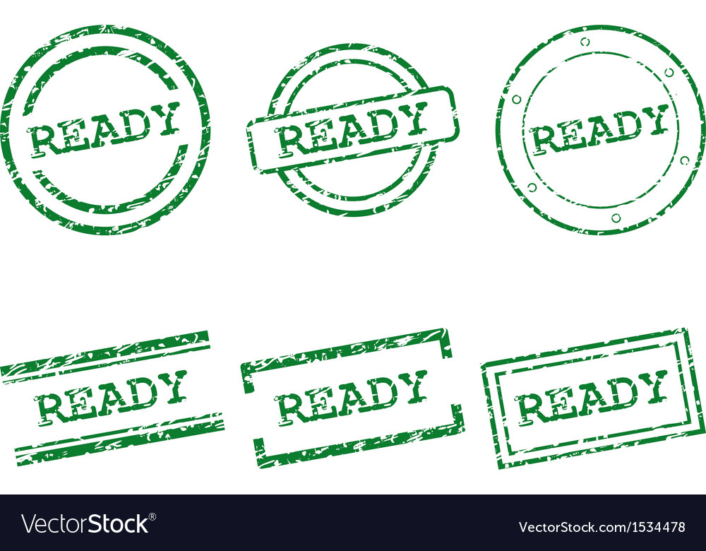 Ready stamps vector   Price: 1 Credit (USD $1)