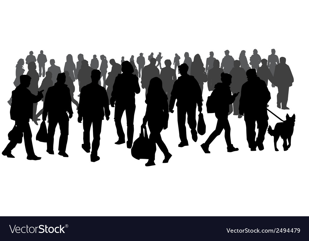 Crowd vector