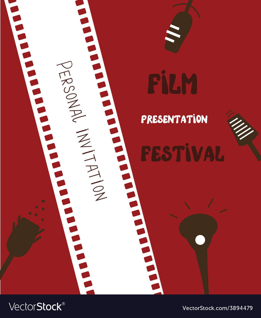 Film festival banner vector | Price: 1 Credit (USD $1)