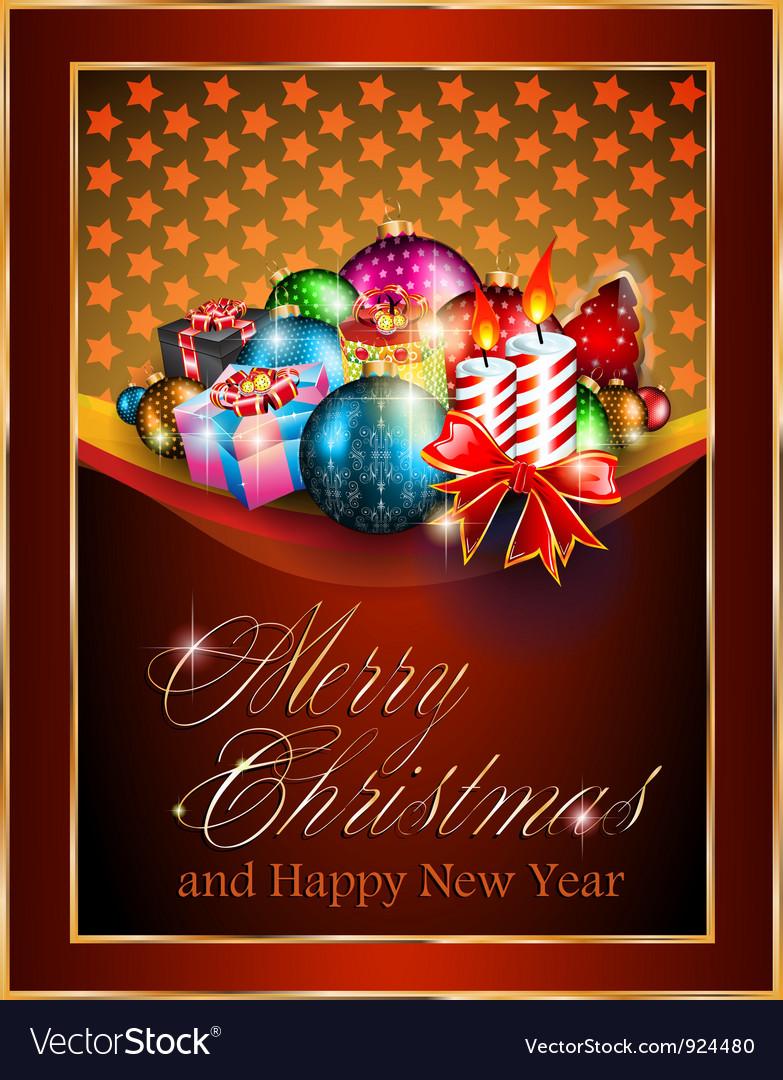 Christmas greetings vector   Price: 3 Credit (USD $3)