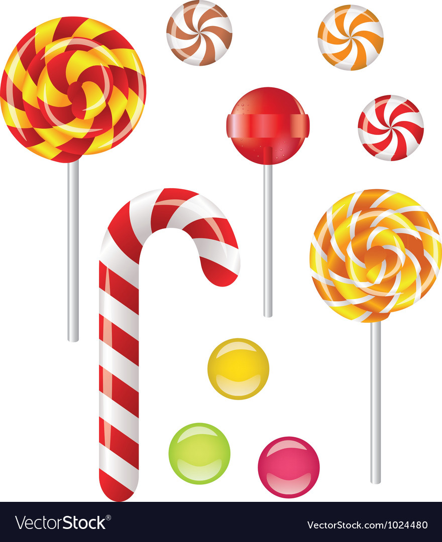 Lollipop vector | Price: 1 Credit (USD $1)