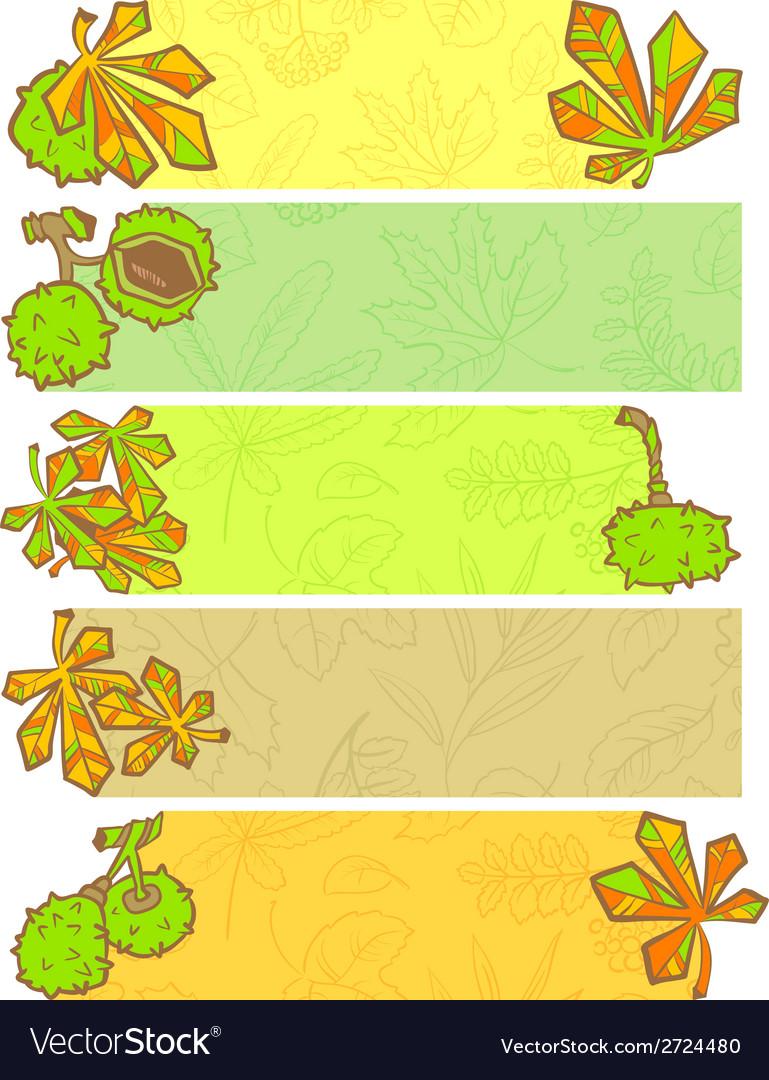 Season banners vector | Price: 1 Credit (USD $1)