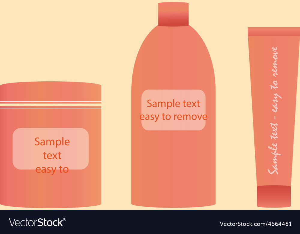 Containers template free freebie vector | Price: 1 Credit (USD $1)