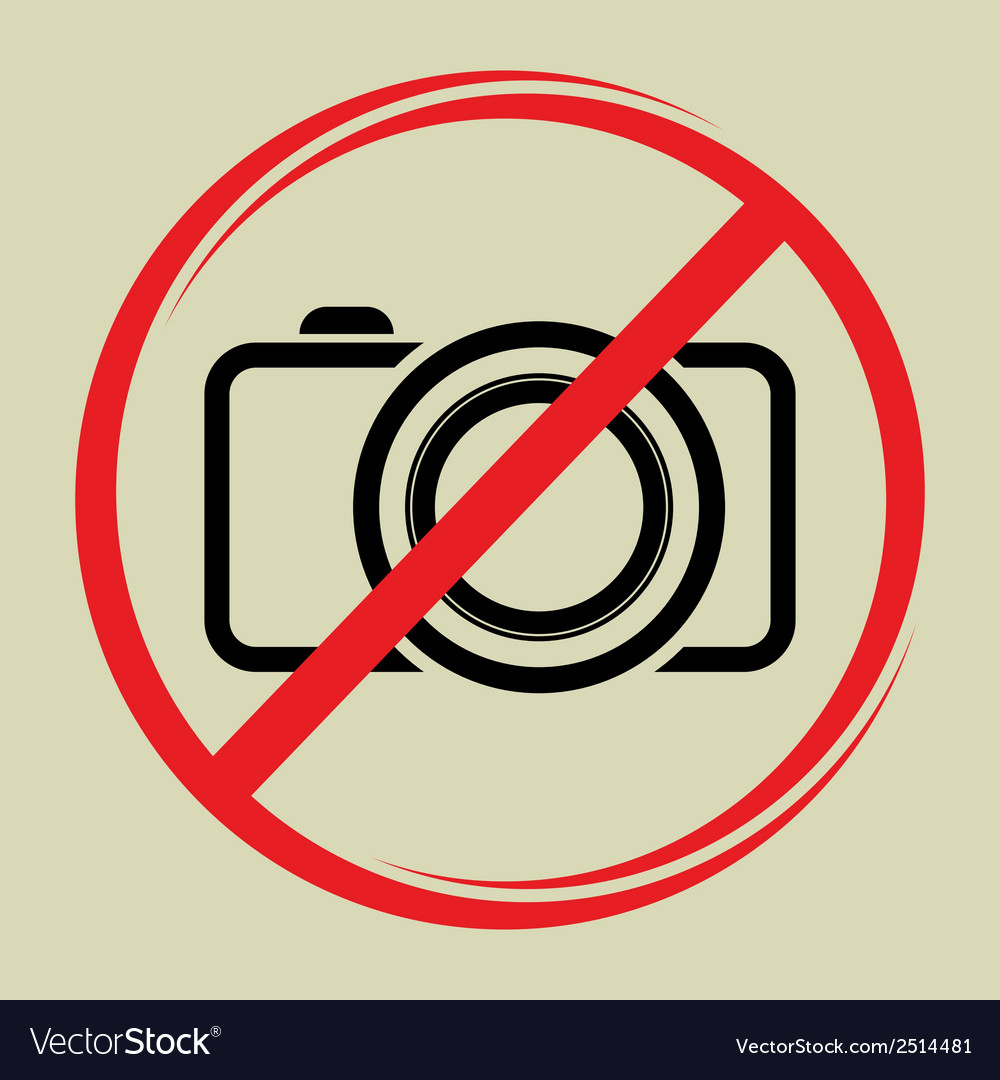 No camera1 vector | Price: 1 Credit (USD $1)