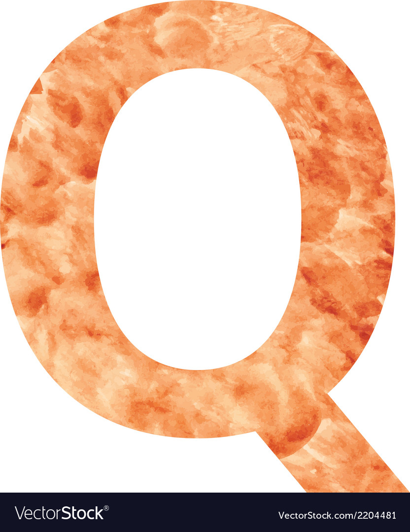 Q land letter vector | Price: 1 Credit (USD $1)