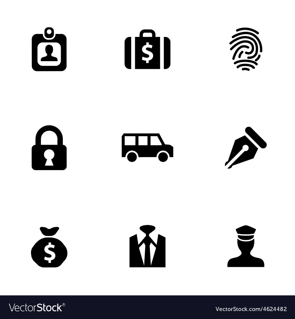 Bank 9 icons set vector | Price: 1 Credit (USD $1)