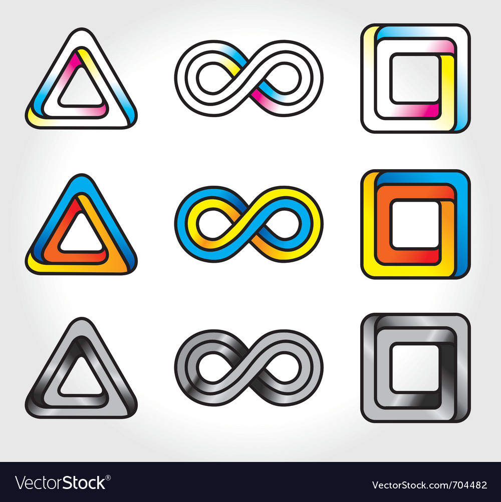 Infinite logos vector | Price: 1 Credit (USD $1)