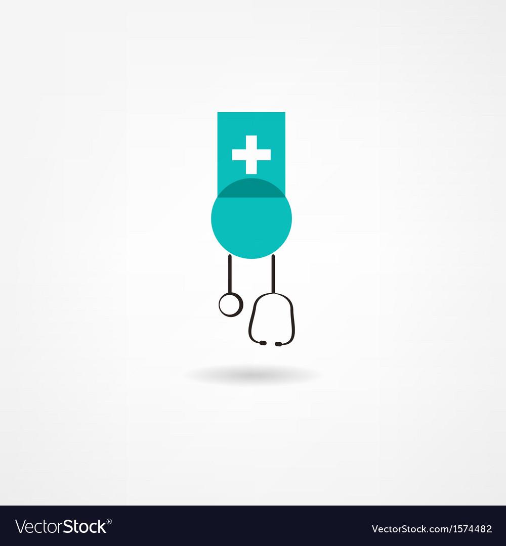 Medicine icon vector | Price: 1 Credit (USD $1)