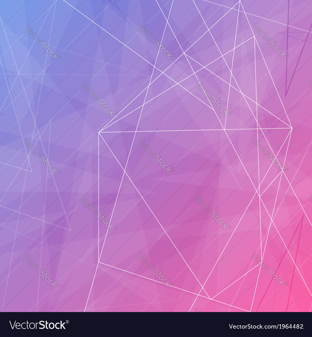 Modern abstract crystal background template vector   Price: 1 Credit (USD $1)
