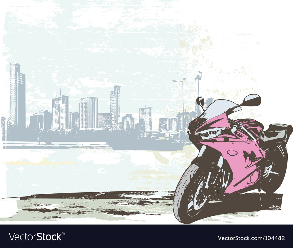 Sport bike vector | Price: 1 Credit (USD $1)
